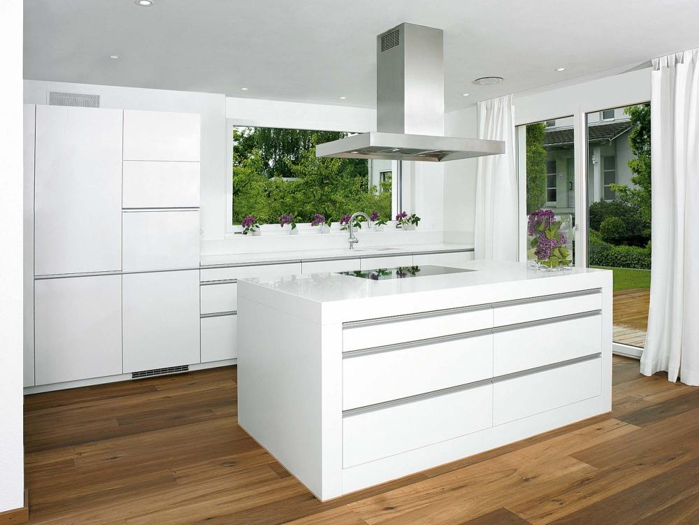 classic white ambiance k chen b der. Black Bedroom Furniture Sets. Home Design Ideas