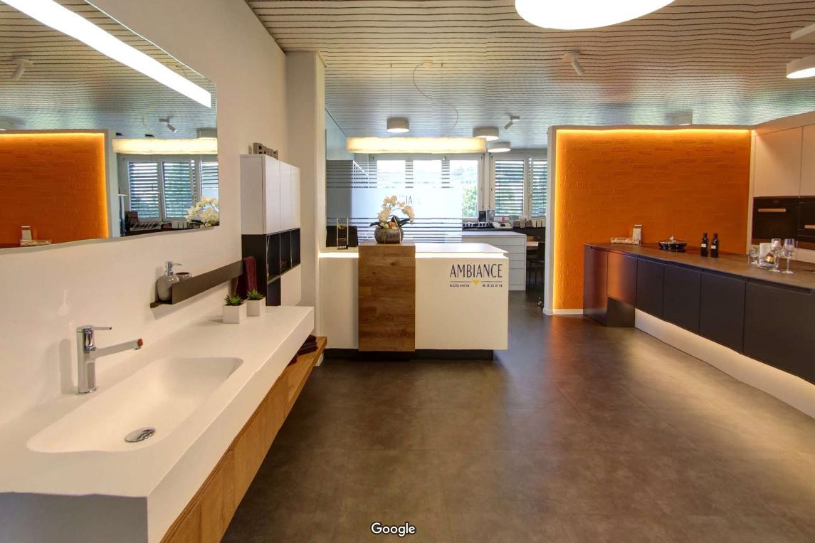 Mit Google 360° unsere Ausstellung besichtigen